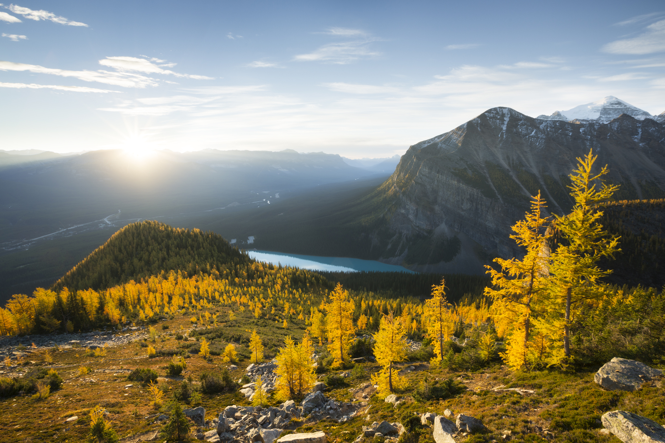 Parque Nacional de Banff, no Canadá. Crédito: