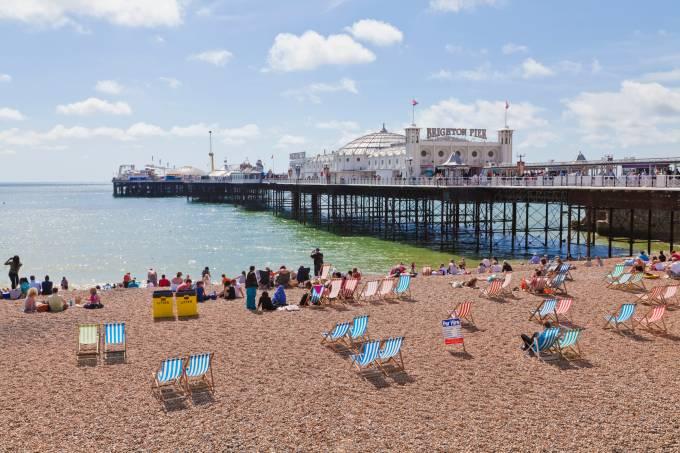 Brighton Pier, Inglaterra