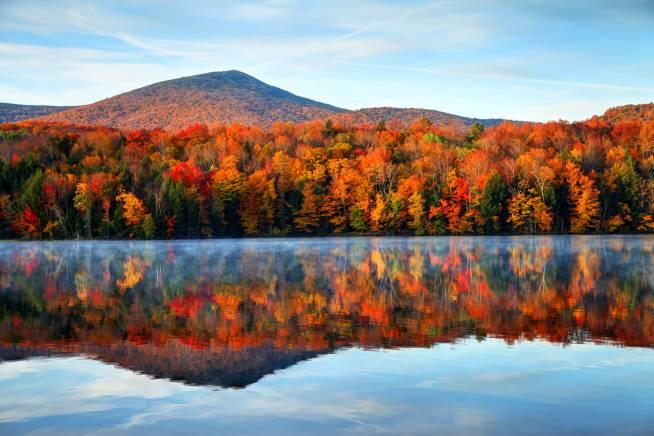 Outono em Vermont, Estados Unidos