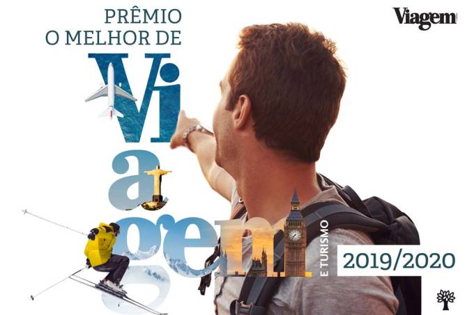 Logo prêmio O Melhor de Viagem e Turismo 2019/2020, o maior prêmio do turismo do Brasil