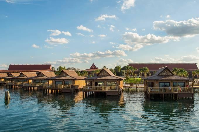 The Bora Bora Bungalows atÊDisney's Polynesian Villas & Bungalows
