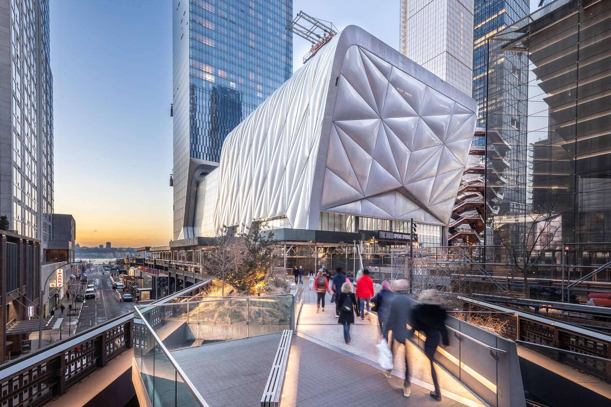 The Shed, no Hudson Yards, em Nova York
