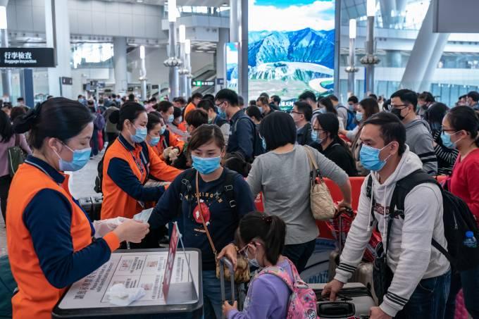 Coronavírus, Hong Kong, China