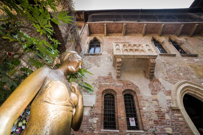 Casa de Julieta, Verona, Vêneto, Itália