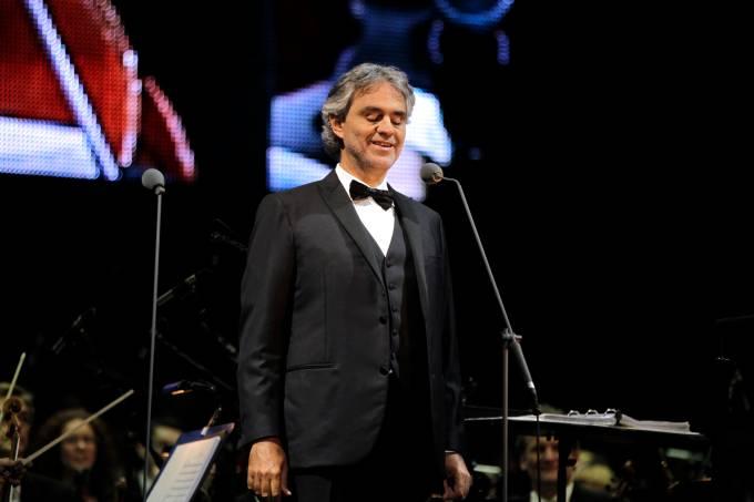 Andrea Bocelli, Teatro del Silenzio, Lajatico, Toscana, Itália