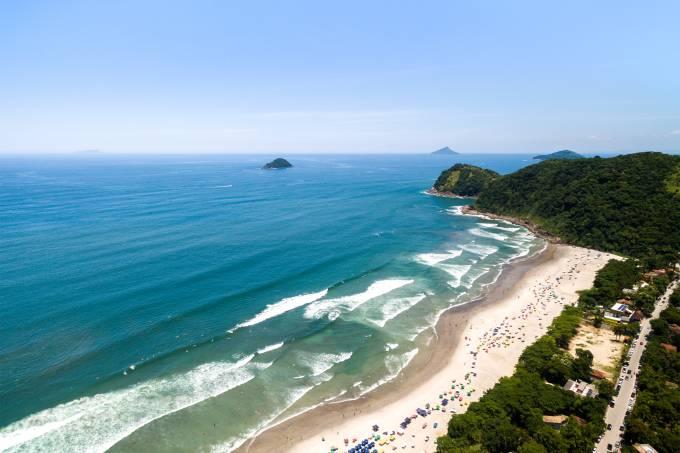 Praia de Juquehy, São Sebastião, São Paulo