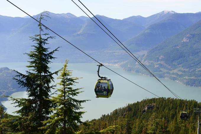 Sea to Sky Gondola, Squamish, Canadá