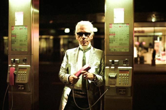 Karl Lagerfeld em Berlim