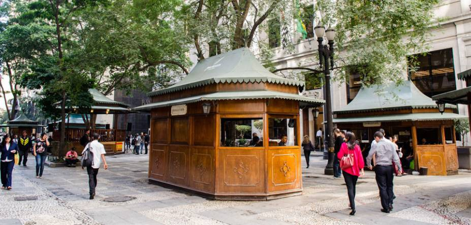 O charme antiguinho da Praça Dom José Gaspar