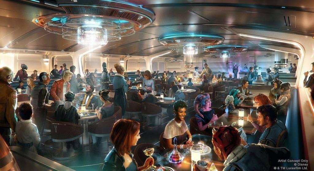 Croqui do novo hotel temático de Star Wars na Disney de Orlando