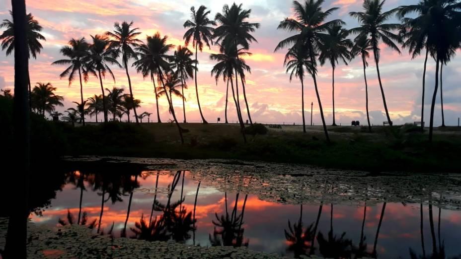 Nascer do sol no Costa do Sauípe
