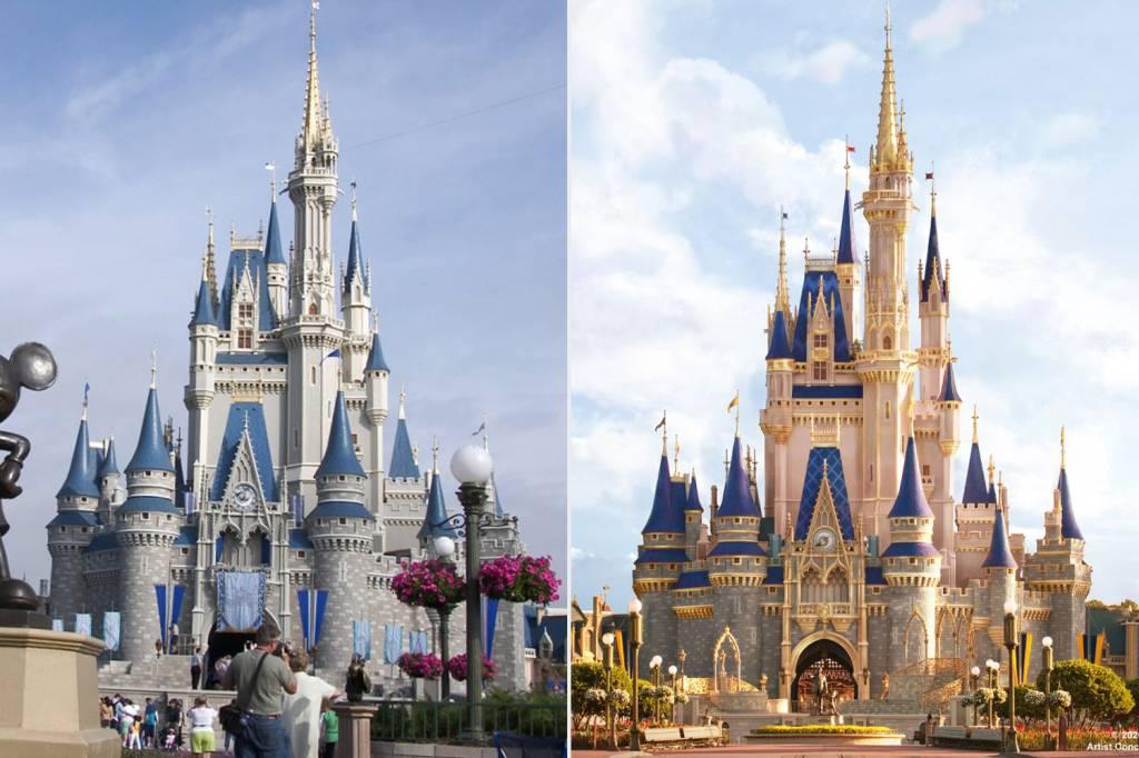 Castelo da Cinderela, Magic Kingdom, Orlando, Estados Unidos