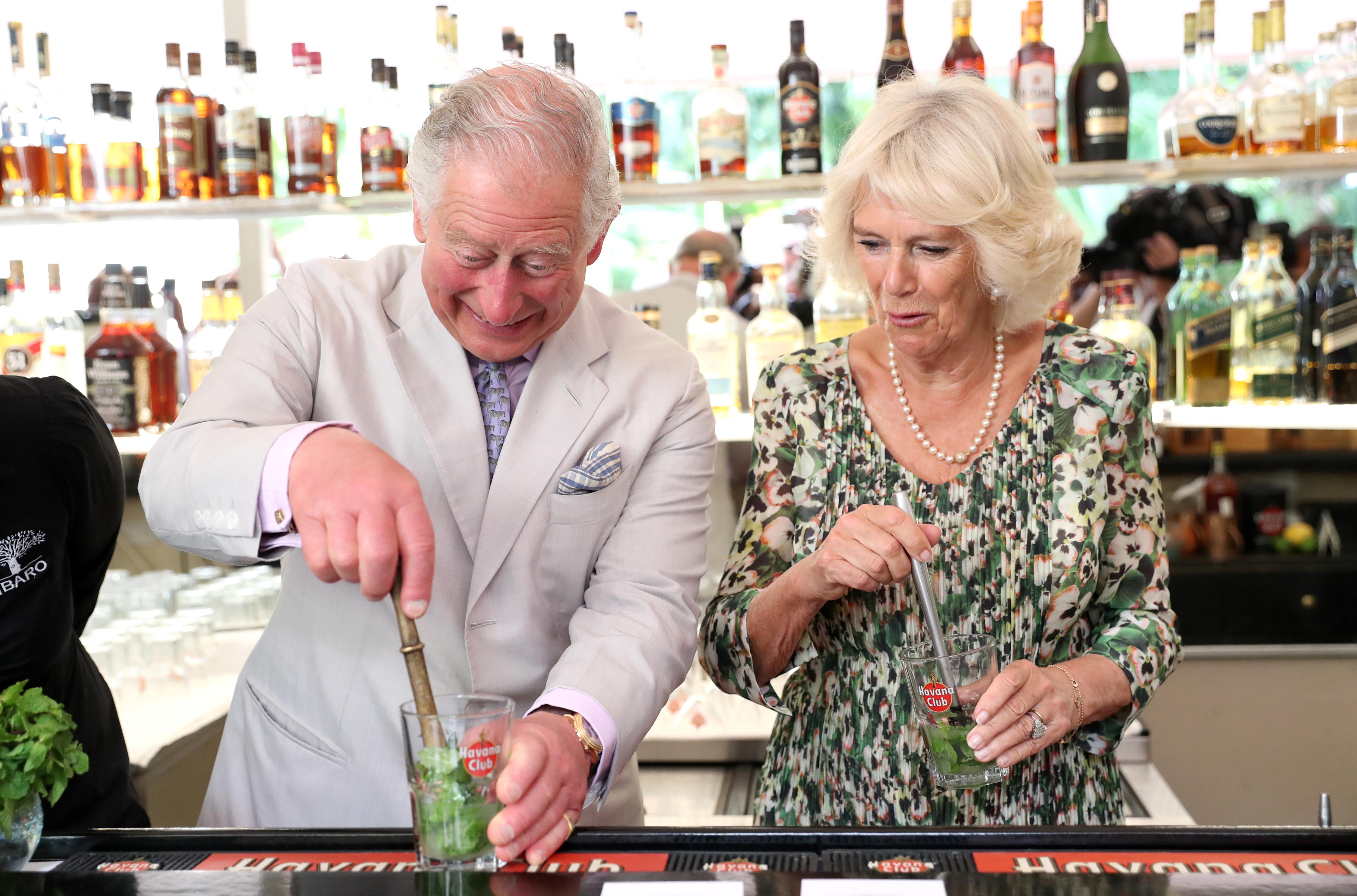 Príncipe Charles e duquesa Camilla em visita a Cuba