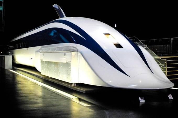 MC Maglev, trem-bala mais rápido do mundo