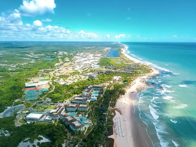 Vista aérea do Costa do Sauípe