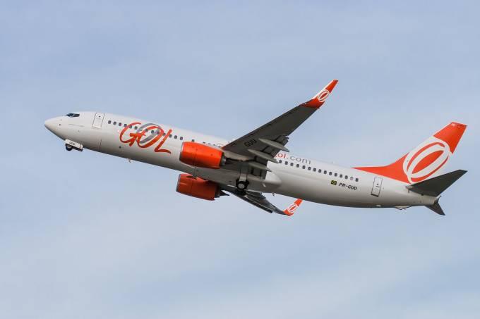 Avião, Gol