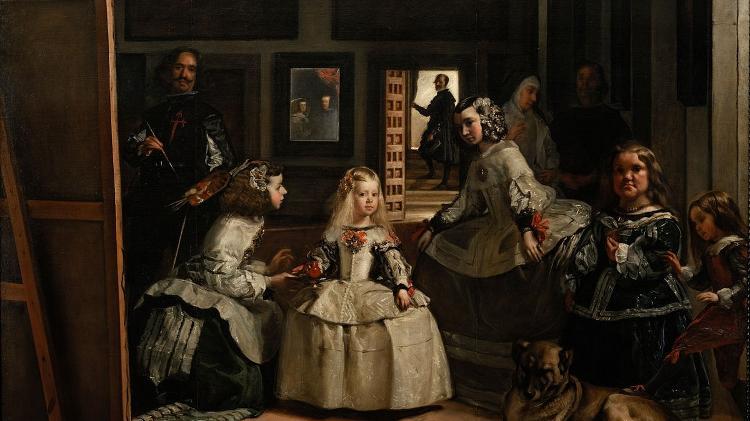 """As meninas"", de Diego Velázquez"