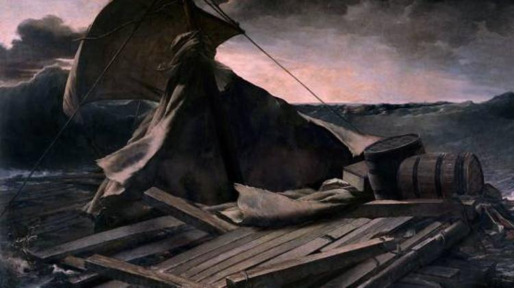 """""""Balsa da Medusa"""", de Théodore Géricault"""