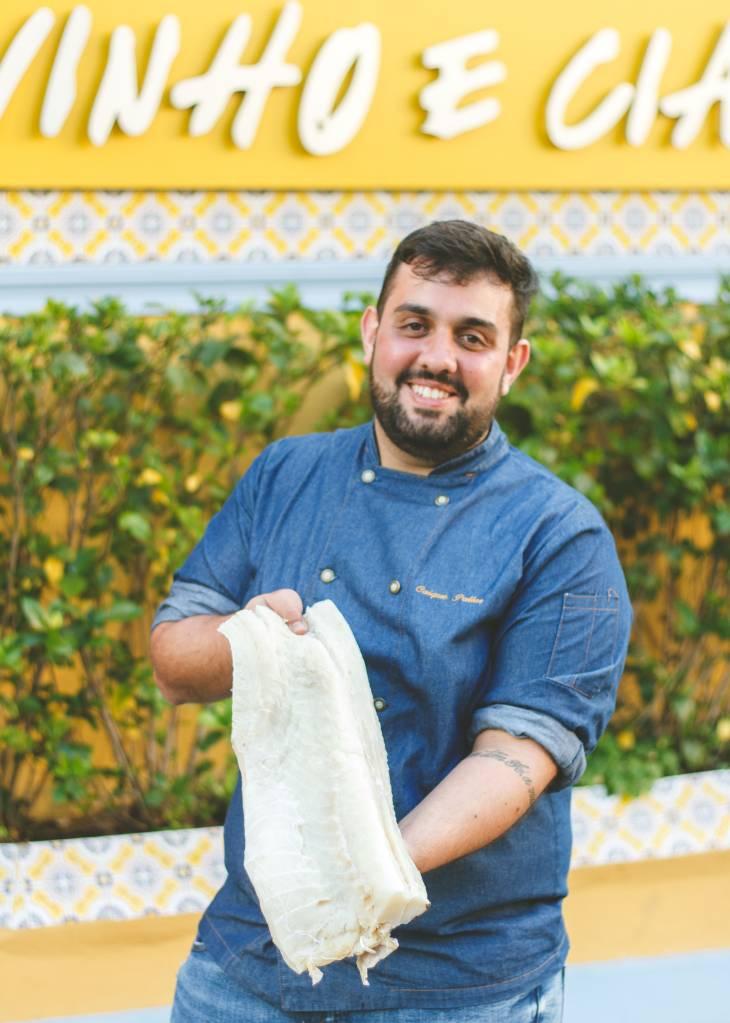 Chef Caique Pallas