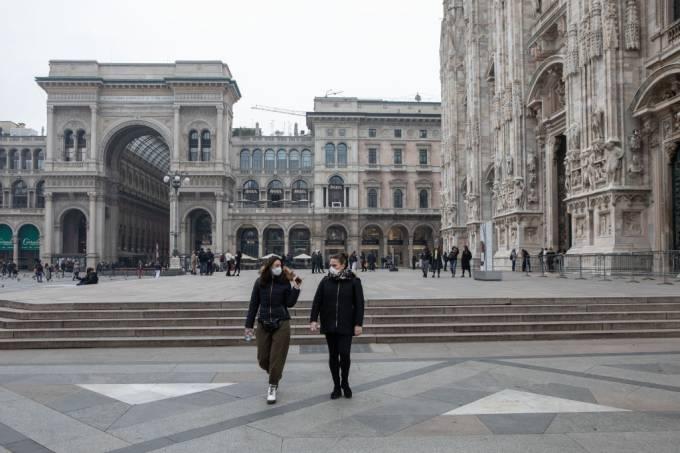 Coronavírus em Milão
