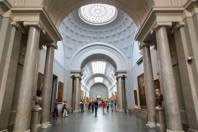 Madrid, Gallery in El Prado Museum