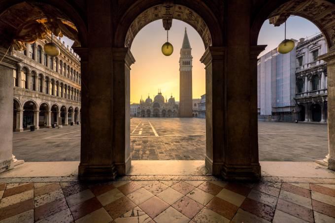 Piazza San Marco, Veneza, Vêneto, Itália