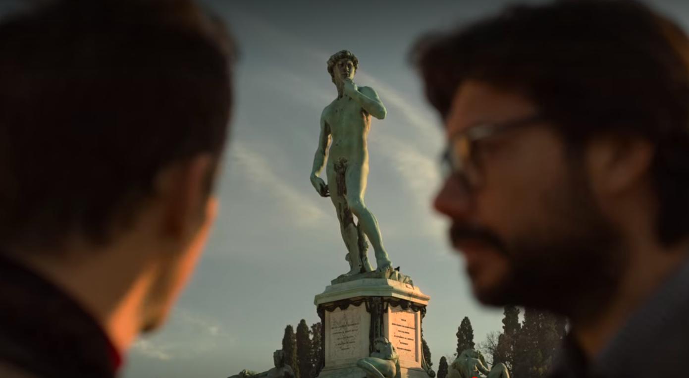 La Casa de Papel - Praça Michelangelo