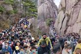 Montanhas Amarelas, China
