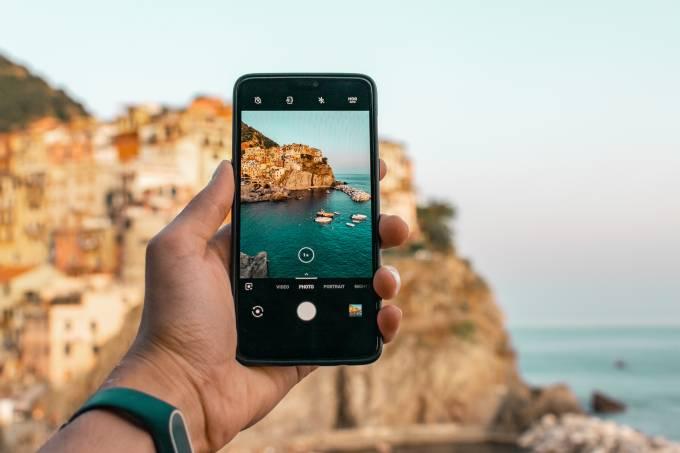 Fotografia com o celular