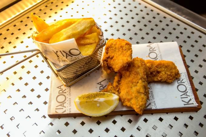 Fish and Chips, restaurante Kia Ora