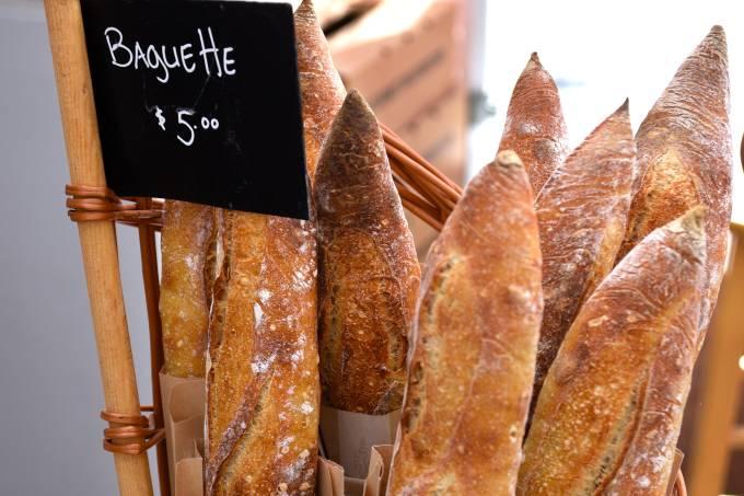 Baguetes, França