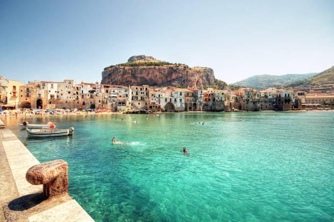 Cefalú, Sicília, Itália