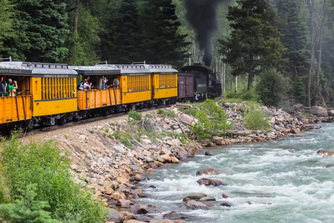 The Durango and Silverton Narrow Gauge Railroad, Colorado