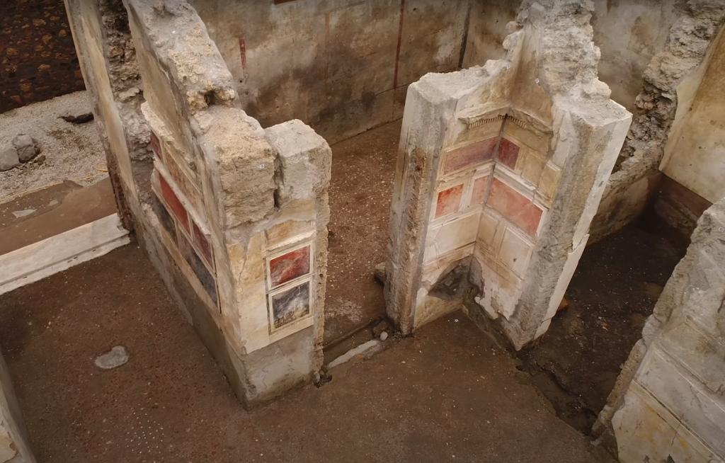 Sítio Arqueológico Pompéia, Campânia, Itália