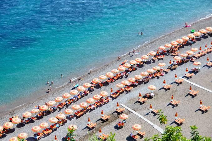 Positano, Costa Amalfitana, Campânia. Itália