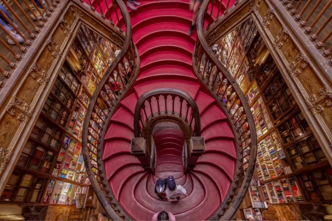 Livraria Lello, em Porto, Portugal