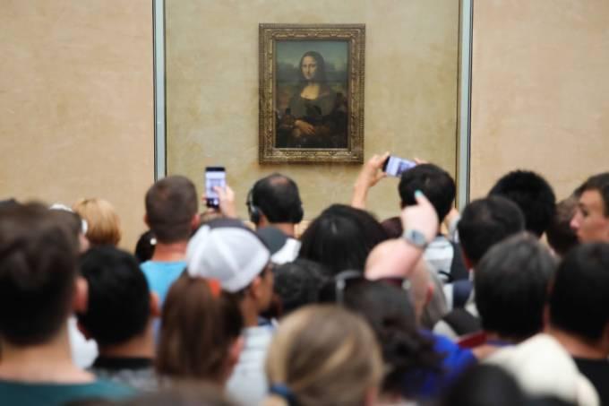 Mona Lisa – Museu do Louvre, Paris