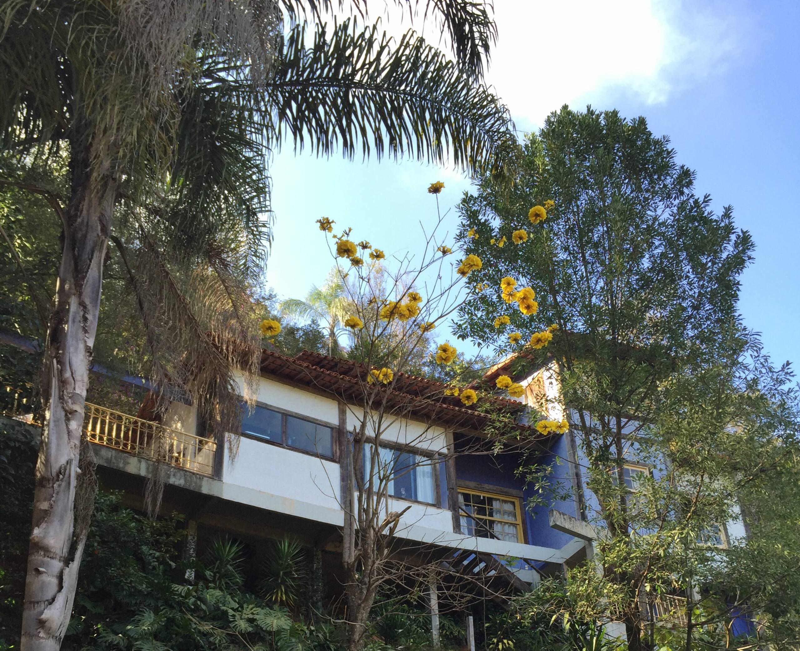 Casa rústica na montanha