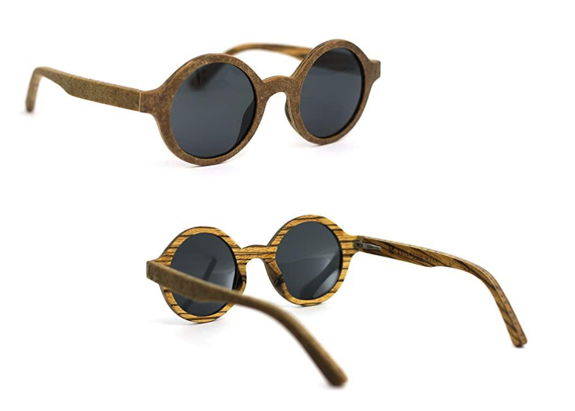 Óculos de sol de madeira