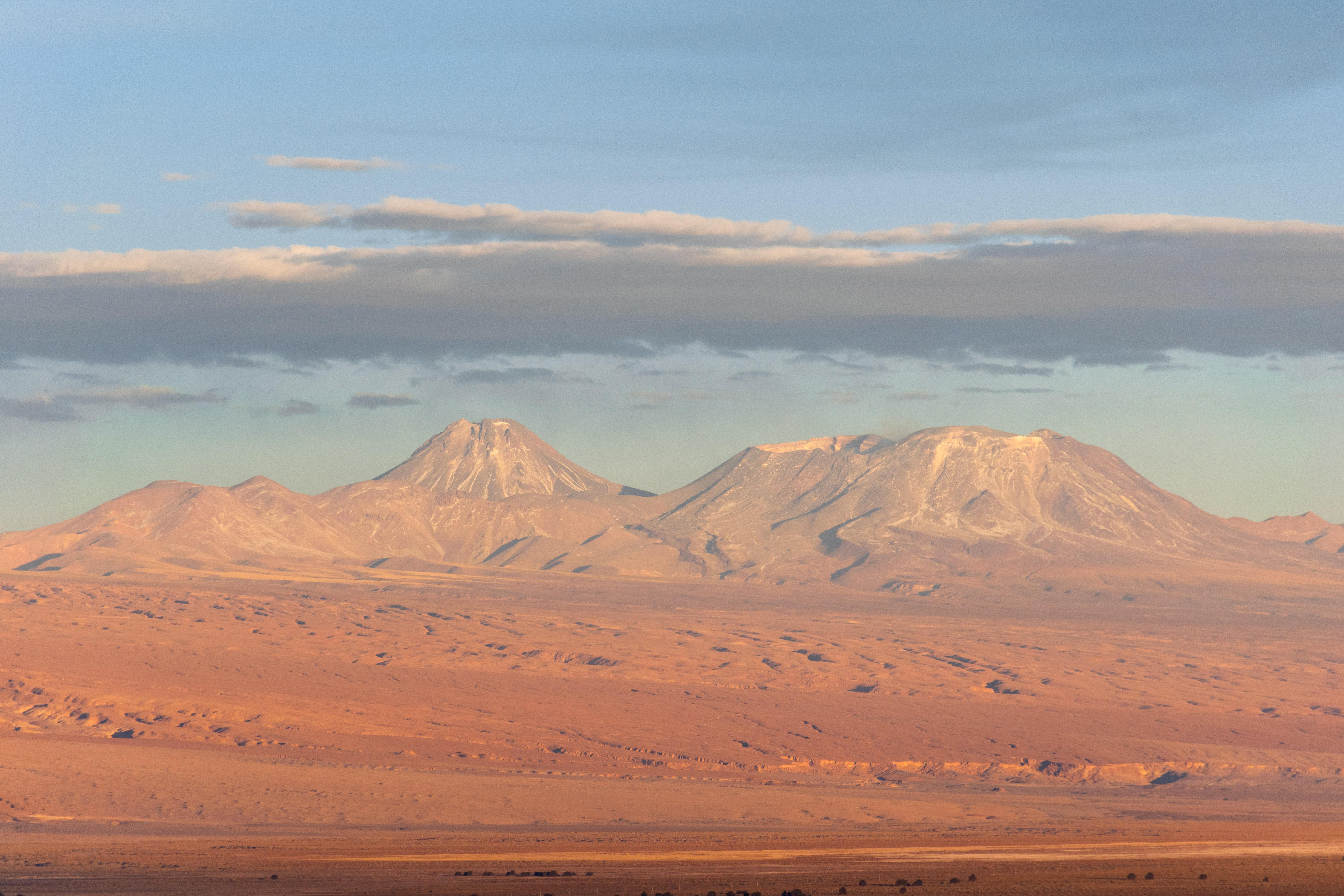 Vulcão Licancabur, Deserto do Atacama