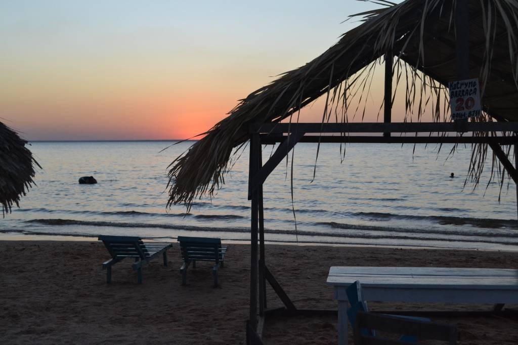 Fim do dia na Praia de Pindobal