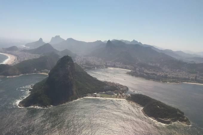 O Rio quando se decola do Santos Dumont: um clichê deslumbrante