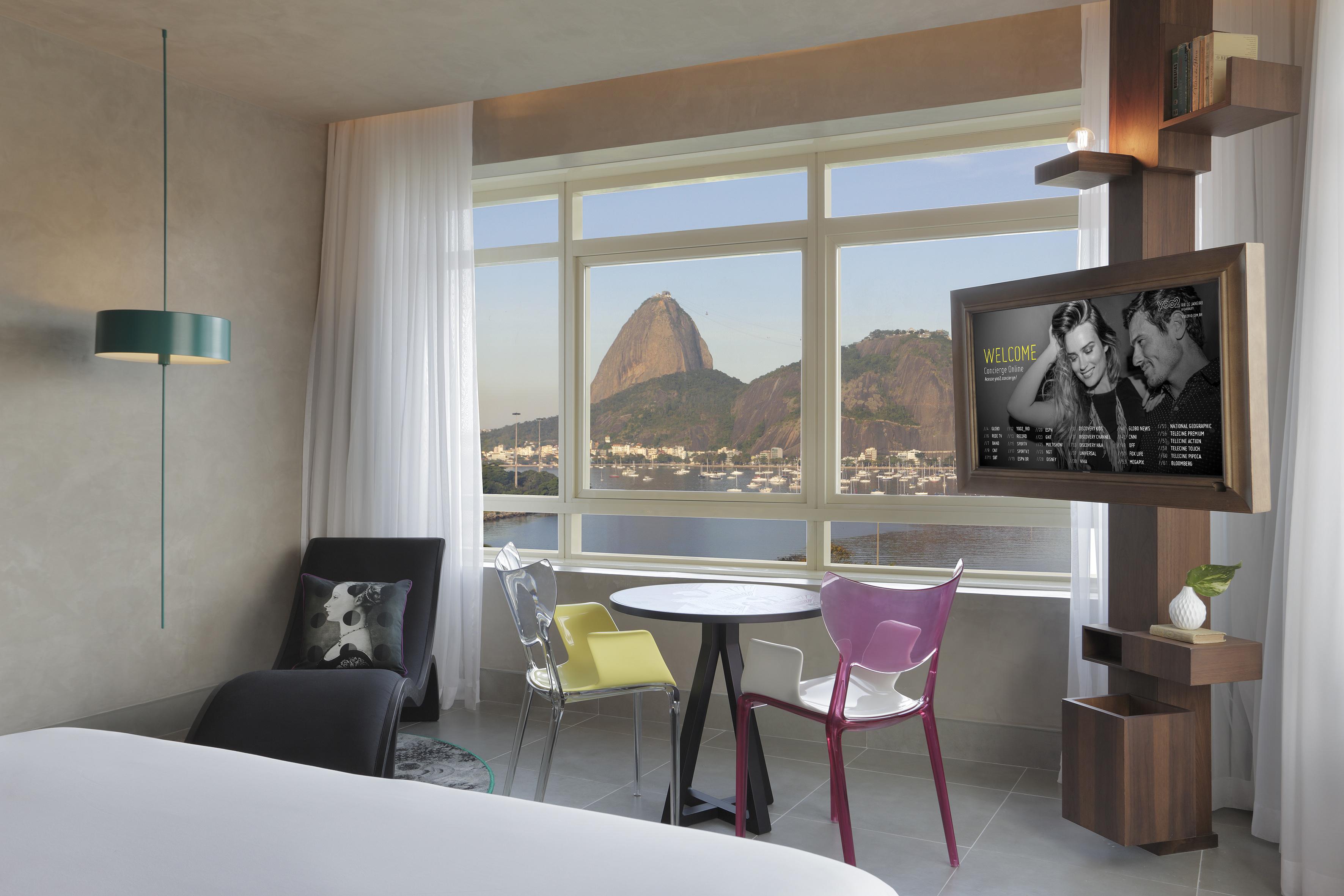 Um dos quartos do Yoo2 Rio de Janeiro by Intercity