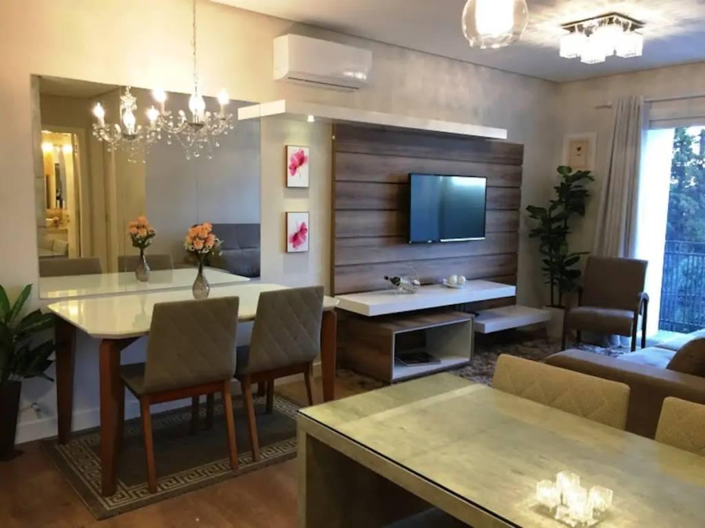 Apartamento novinho perto da Rua Coberta, em Gramado (RS)