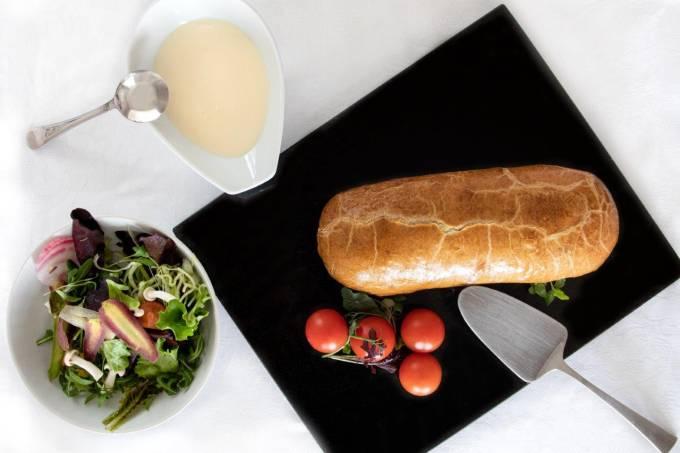 Four Seasons Hotel Ritz Lisbon – strudel de bacalhau (1)
