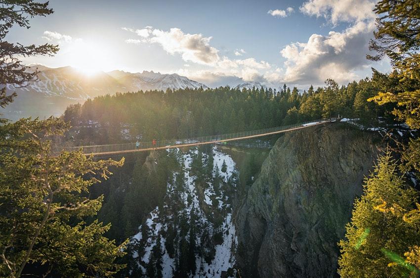 Golden Skybridge, a ponte de pedestres mais alta do Canadá