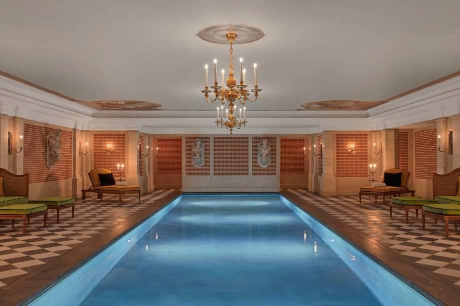 No spa Valmont, os tratamentos são inspirados nos rituais de beleza da rainha Maria Antonieta