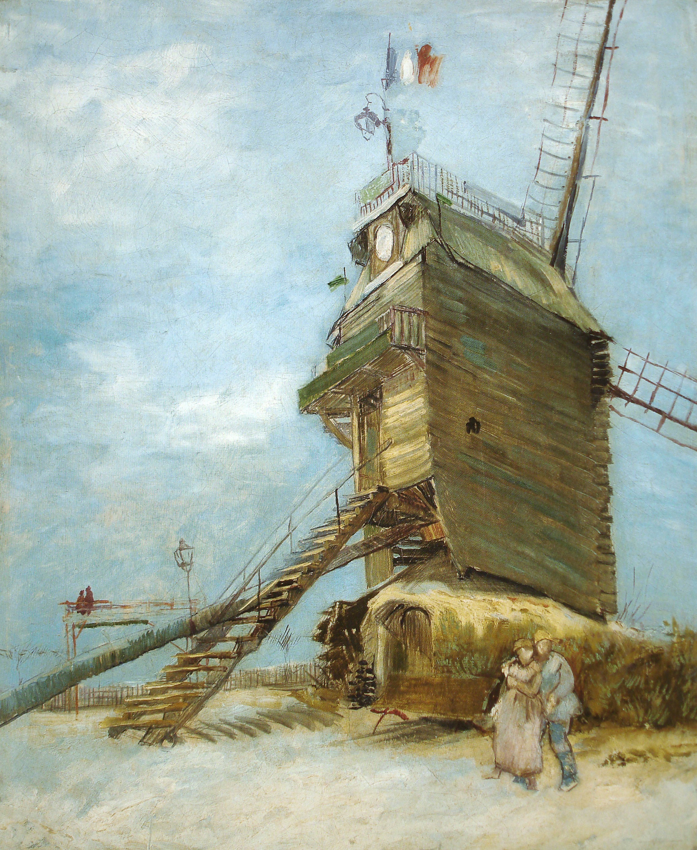 Quadro O Moulin de la Galette