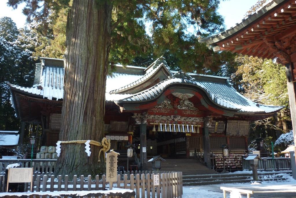 o santuário Kitaguchi Hongu Fuji Sengen-jinja