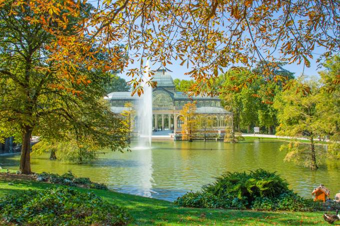 Crystal Palace in Autumn